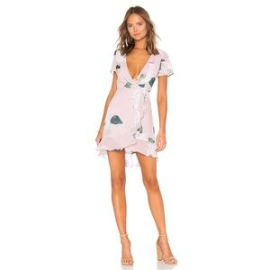 Winnie Wrap Dress in Southern Magnolia